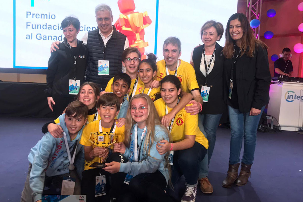 Aldeatron Robotix participará en la final First Lego League España