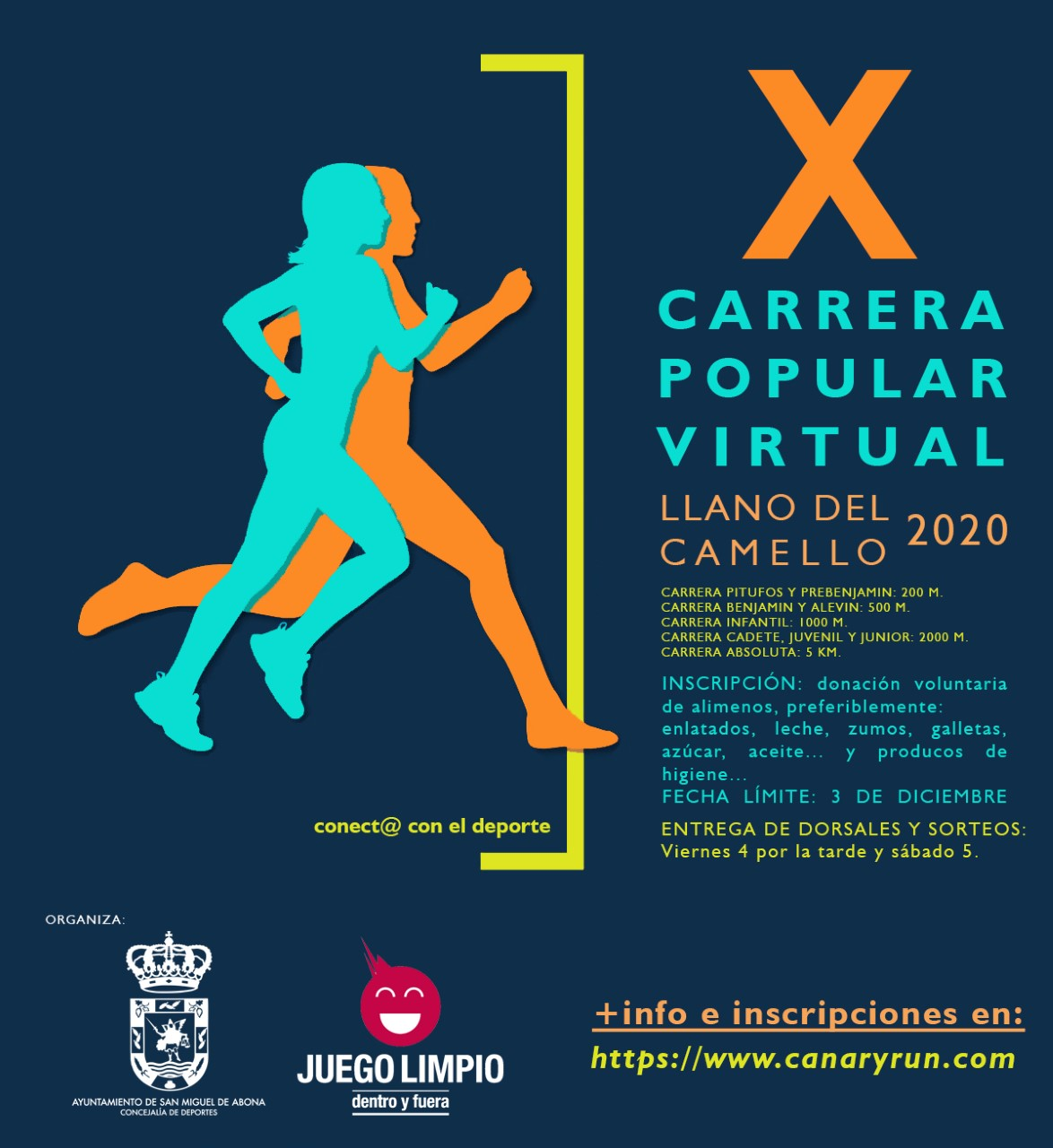 X Carrera Popular Virtual Llano del Camello 2020